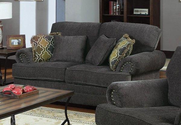 Coaster Furniture Colton Grey Loveseat