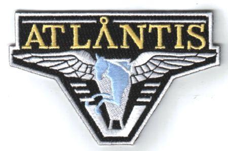 Stargate Atlantis TV Series Screen Accurate Pegasus Logo Patch