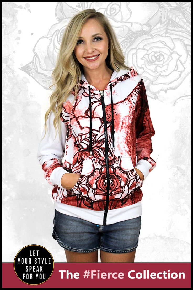 Bloom from Within - Women's Zipper Hoodie