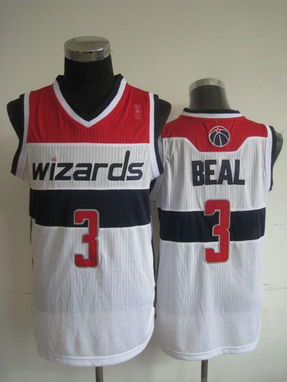... NBA Washington Wizards 3 Bradley Beal Authentic White Jersey 21.99 ... 18c0e5e83