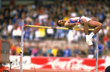 Daley Thompson competed for Great Britain in the 1980 and 1984 Olympics.During those Olympics, he won the gold medal in the decathlon both times.