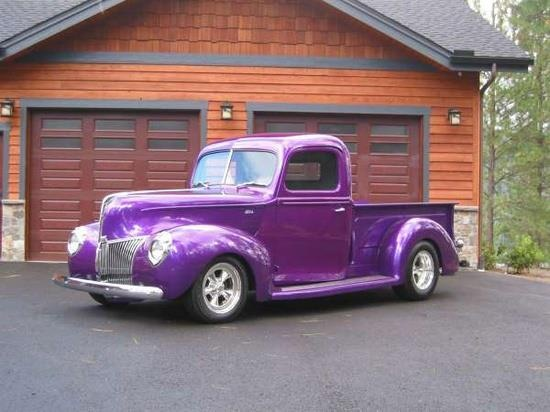 purple pickup