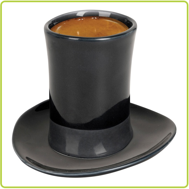 Attractive Top Hat Espresso Cup U0026 Saucer Great Pictures