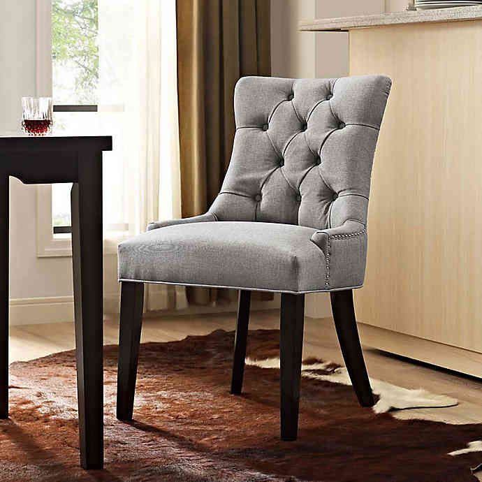 Strange Modway Regent Upholstered Dining Side Chair Bed Bath Andrewgaddart Wooden Chair Designs For Living Room Andrewgaddartcom