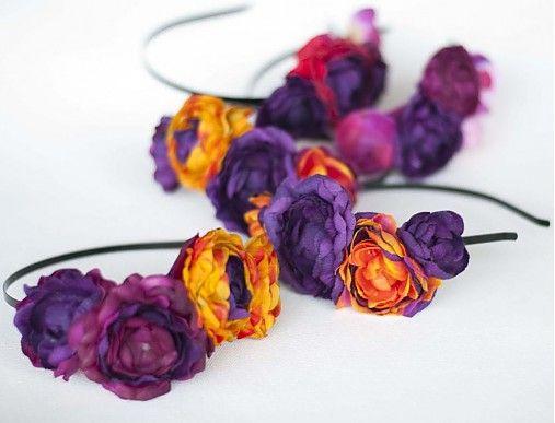 Samodiva / Čelenka Fall Flowers