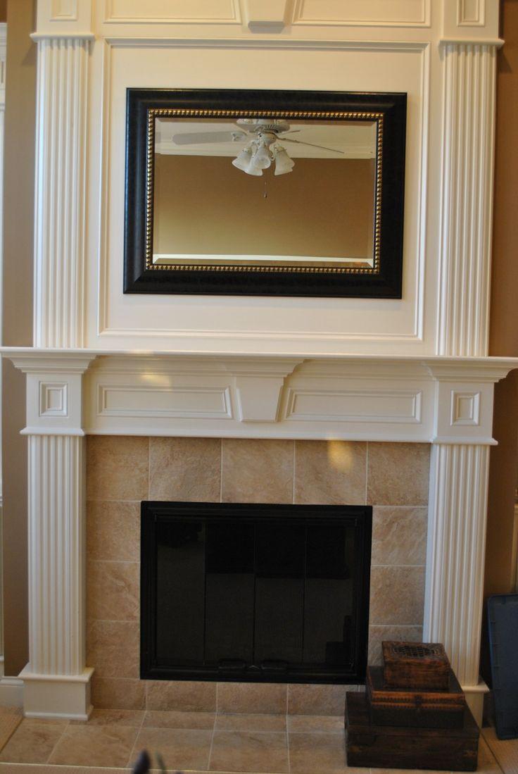 White Fireplace Surround Ideas  Fireplace  Fireplace