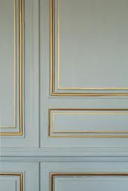 painted molding gold