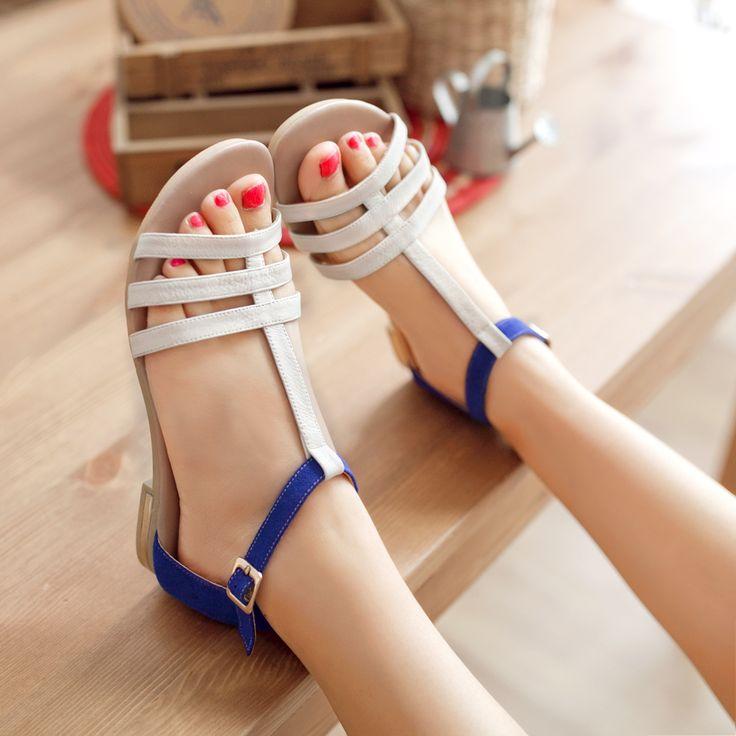 Sandalias planas de moda 2014 4