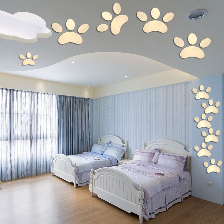diy 3d mirror decal vinyl art mural wall stickers home decor removable