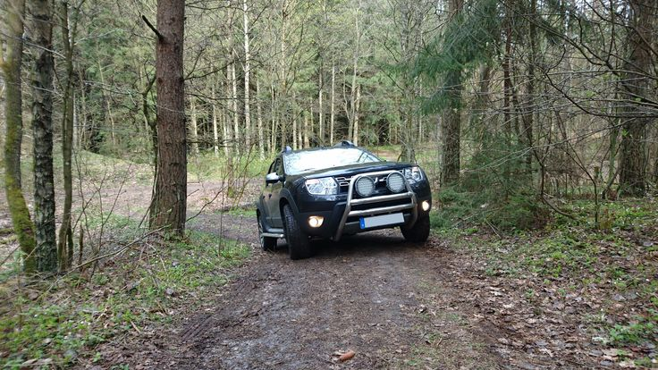 Dacia Duster Offroad. 4x4