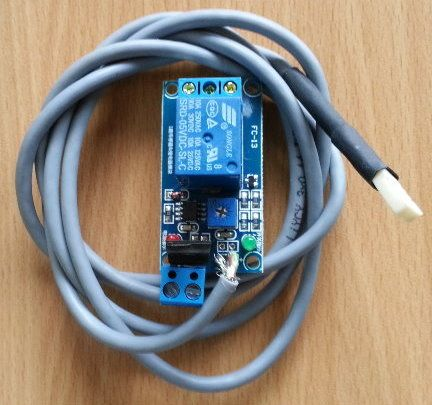 Fugtighed  Sensor 12V til ventilationsanlæg med 12V batteri.