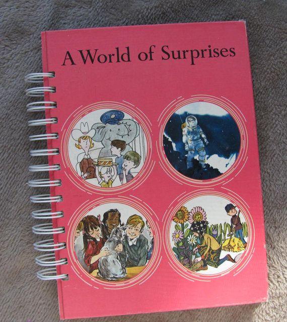 Recycled Vintage School Book Kid's Journal by VintageIntent