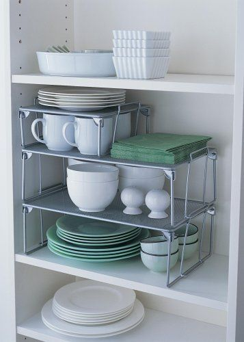 1 x Large Mesh Stacking Shelf by Design Ideas, http://www.amazon.co.uk/dp/B000KHPI7S/ref=cm_sw_r_pi_dp_C85Uqb0ZD4SBP