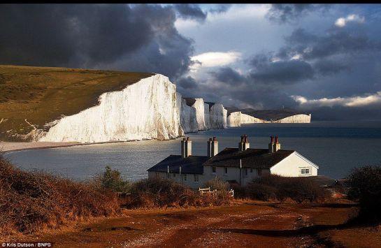 white cliffs of Sussex