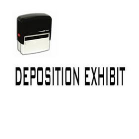 Are you looking for legal stamps online? Buy a Deposition Exhibit Self-Inking Rubber Stamp online from Acorn Sales at a very reasonable price!
