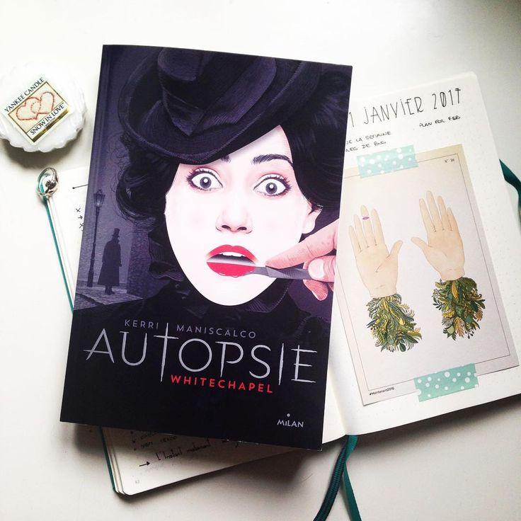 "72 mentions J'aime, 4 commentaires - Rosemary (@cprettyrosemary) sur Instagram: ""Nouvelle lecture : Autopsie, Whitechapel de @kerrimaniscalco chez #Milan  #books #book #instabook…"""