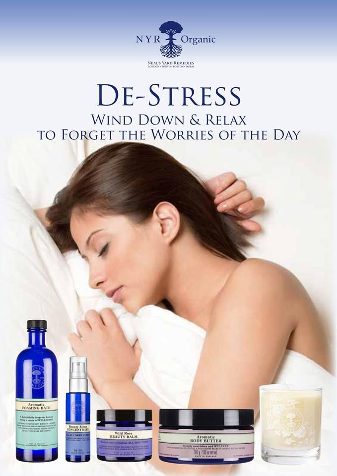 De-stress organically and with natural fragrance with these favorite products…https://uk.nyrorganic.com/shop/clairedowntonjon