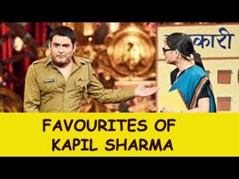Kapil Sharma welcomes Sanjay Dada - Comedy Circus