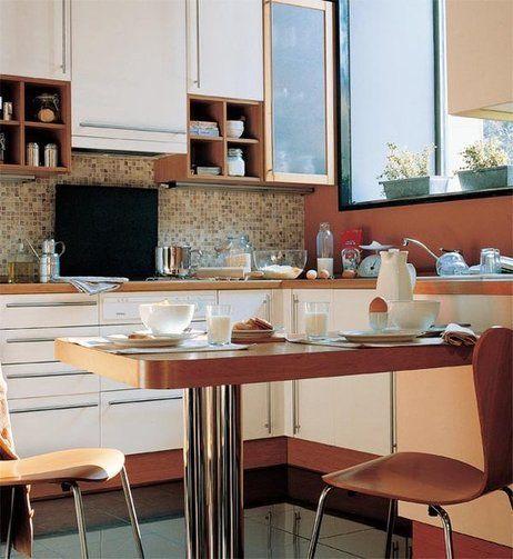72 mejores im genes sobre kitchens cocinas en pinterest for Cocina office pequena