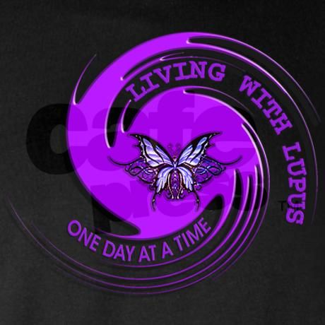 Lupus Awareness Long Sleeve Dark T-Shirt