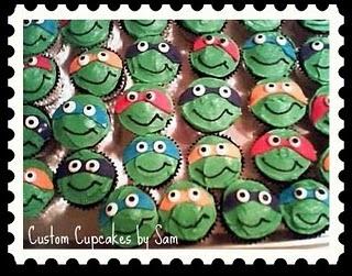 Ninja Turtles!: Sammy Cupcakes, Cupcakes Food, Turtles Cupcakes, Ninja Turtle Cupcakes, Ninja Turtles, Party Ideas, Birthday Party, Birthday Ideas, Kid