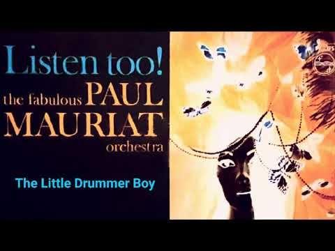 The Little Drummer Boy - PAUL MAURIAT - YouTube