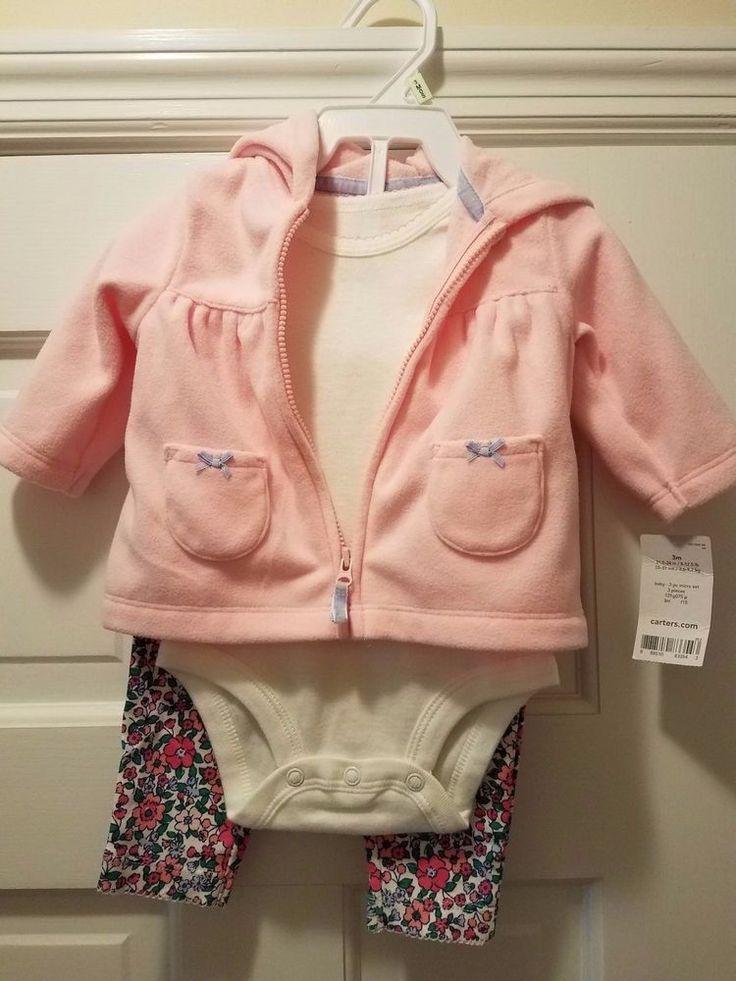 carters baby girl 3 piece #Carters #Everyday