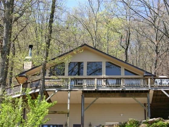 Extraordinary Home Located on 12 acres. Above 2200 ft above sea level this home has views for miles. See 3 states on a clear day. One of North East Georgias finest Views and only minutes from Helen Ga. Near all the best Vacation areas Lake Burton  Anna Ruby Falls Helen or Dahlonega.