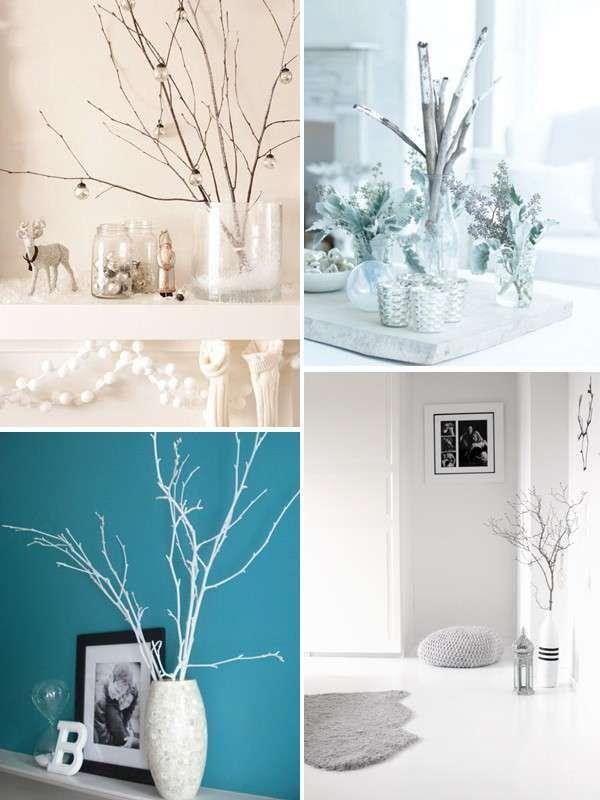 Idee fai da te per decorare casa in inverno - Decorazioni con rami