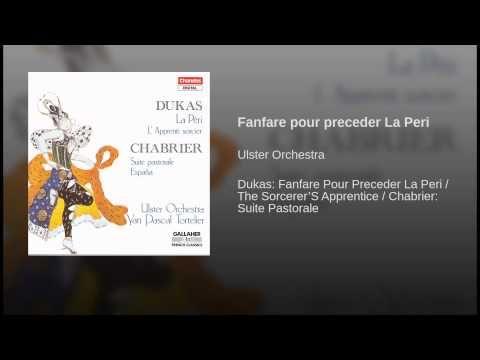 Fanfare pour preceder La Peri - YouTube