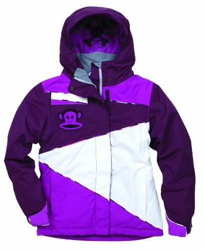 Paul Frank Girls' Julius Zigzag Insulated Jacket (Light Plum, Medium) by Paul Frank. $91.00. The Julius Zig-Zag Insulated Jacket offers foul weather protection for most winter conditions. We use Infidry-8 fabric (8,000mm) on the outside of the jacket. The Infidry fabric is microporous, which means it allows moisture from your body's perspiration to exit while preventing moisture from the elements to enter, thus staying dry and warm from the inside as well.