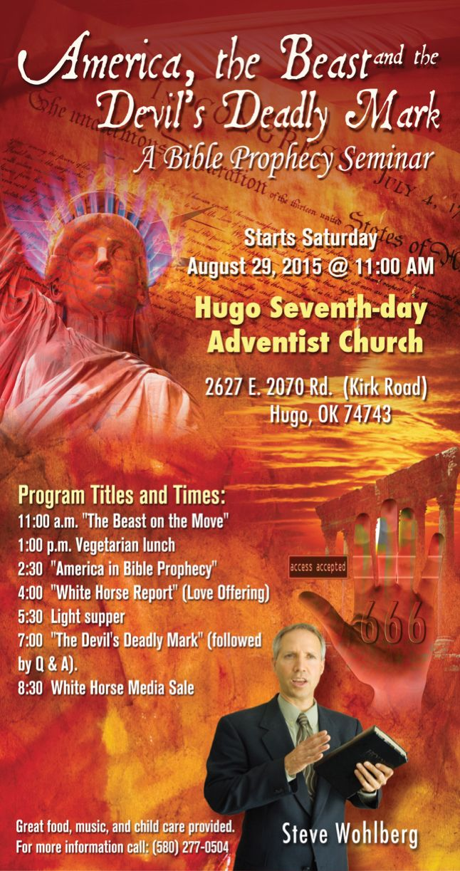 Wohlberg all day prophecy seminar in hugo ok august 29 hugo