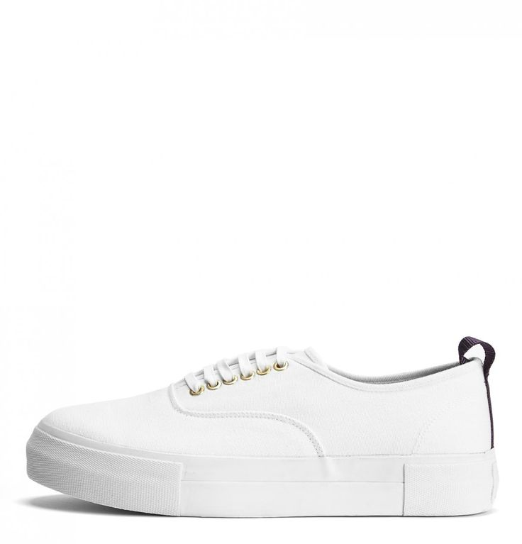 White Mother Canvas Sneakers