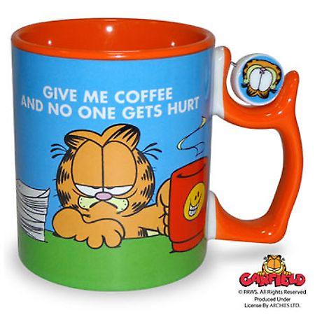 Garfield mug..... naughty