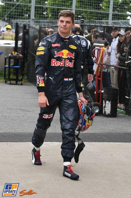 Max Verstappen, Red Bull, Formule 1 Grand Prix van Canada 2016, Formule 1