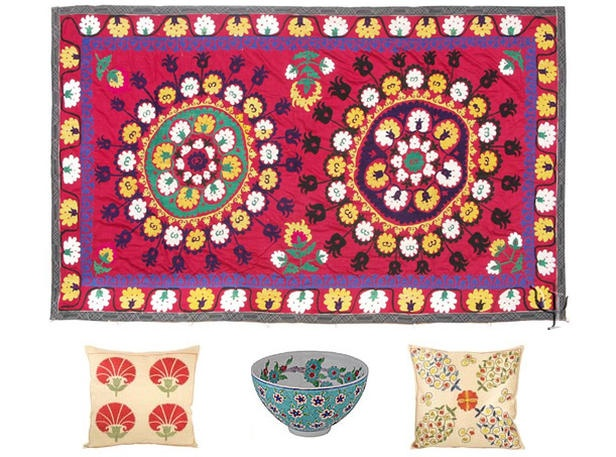 Ethnic prints are so cute.