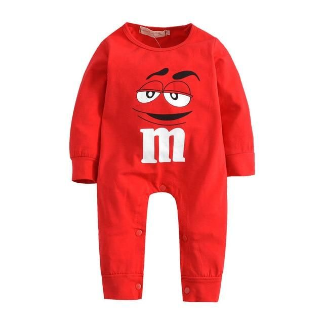 Newborn Infant Baby Girl Boy Long Sleeve Cartoon Romper Jumpsuit Outfits Clothes
