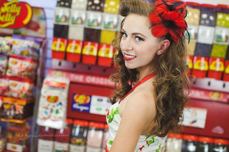 Photo by Cat Tetreault Photography  MUAH : Lexi Whitewall  Shot at Stickys Candy Downtown Chilliwack retro hair  Retro makeup  pinupgirl candyshop   #pinupgirl #candystore #stickyscandydowntownchilliwack #cattetreaultphotography #muahbylexi #lexiwhitewall #retrohairandmakeup