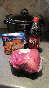 Delicious & Easy Pot Roast ~ Crock Pot Recipe Ingredients:  1 pot roast (we've…
