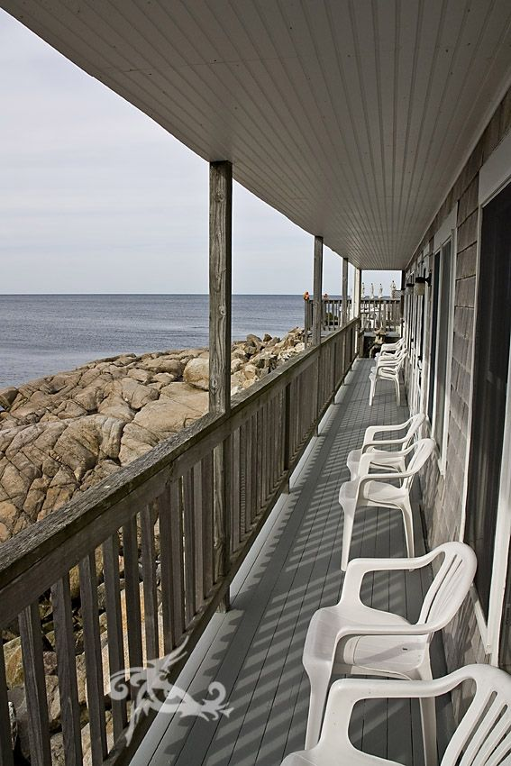 USA East Coast Road Trip / Tag 10 / Newport-Rockport / Ein Motel am Meer
