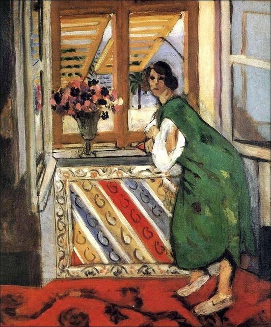 "Henri Matisse (1869‑1954) - ""Young Girl in a Green Dress"", 1921"