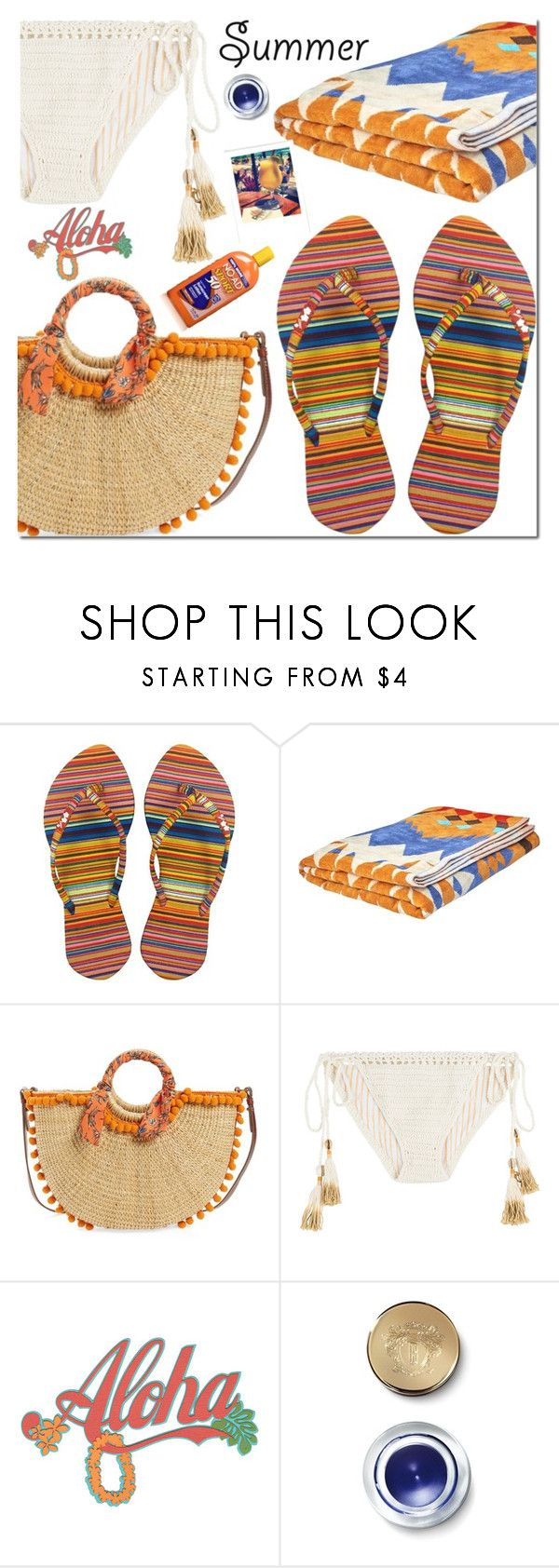CHOSECHIC by mada-malureanu on Polyvore featuring SHE MADE ME, Sam Edelman, Bobbi Brown Cosmetics, Woolrich, beach, FlipFlops, summerbrights and chosechic