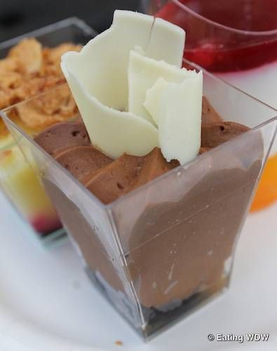 Bring some magic to your kitchen and try this Dark Chocolate Mousse with Chili and Salted Caramel Recipe from Food and Wine Festival  at EPCOT in Disney World