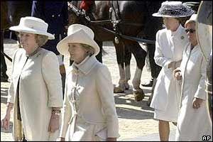 Funeral of Queen Juliana of the Netherlands, 2004- Queen Beatrix, Princess Irene, Princess Margriet, Princess Christina