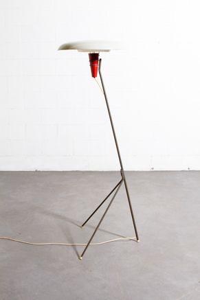 Louis Kalff NX 38 Floor Lamp for Philips 1957