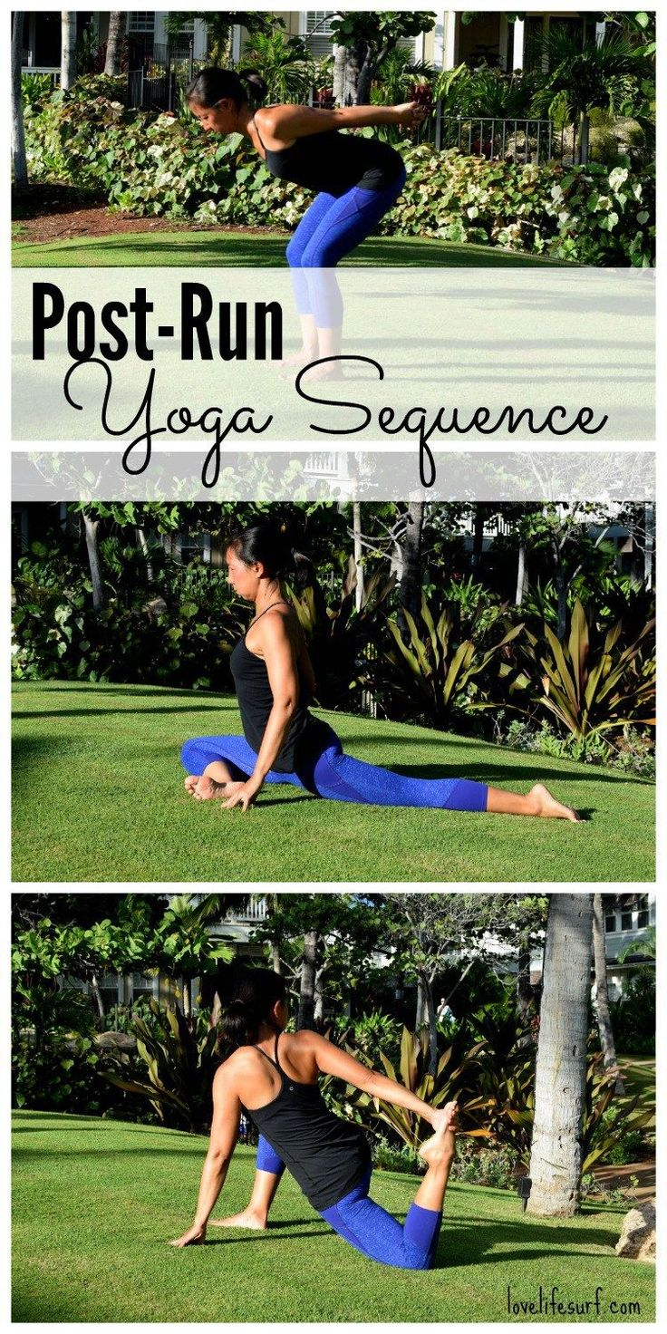 Training for a marathon or half marathon? Here's a post-run yoga sequence to help you cool-down and stretch out your tired muscles! This all-levels…