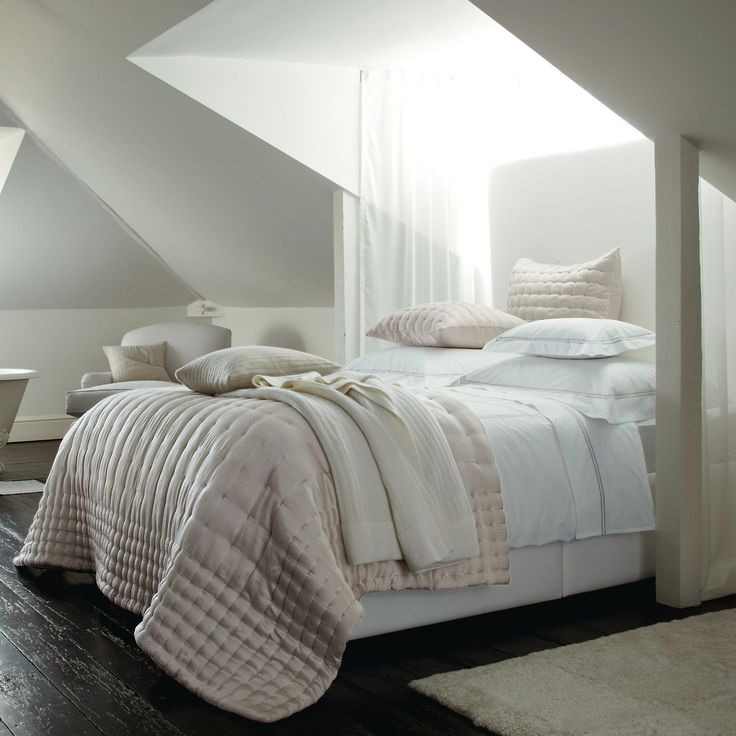 soft blush and white - Cashmere Throw - Bedspreads  Cushions | The White Company