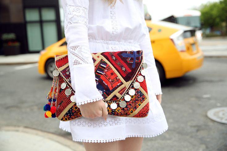 Antik Batik Banjo Clutch on Fashion Squad blog by Carolina Engman.