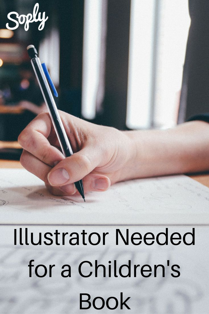 #Illustrator needed for a #childrens #book. The book should have no more than 50 #pages. See the illustration job and apply by clicking the pin!