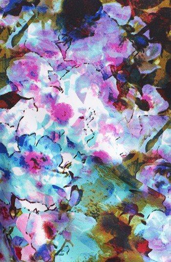 Ivy & Blu for Maggy Boutique Print Satin Sheath Dress (Regular & Petite) | Nordstrom
